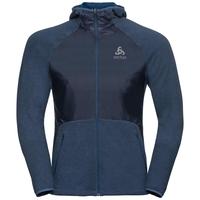 MILLENNIUM LINENCOOL PRO-jas voor heren, ensign blue melange, large