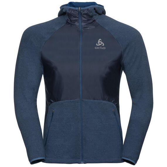Jacket MILLENNIUM LINENCOOL PRO, ensign blue melange, large