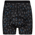 Bottom Short SUMMER SPLASH, black - Cycling AOP, large