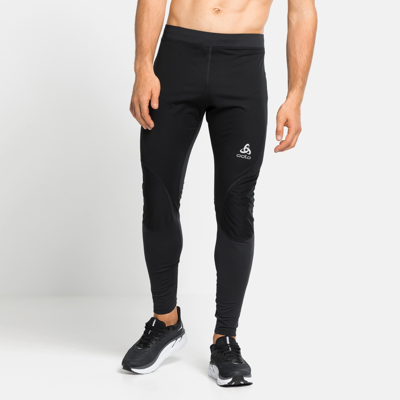 Men's ZEROWEIGHT WARM Tights, black, large