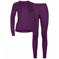 Women's ACTIVE WARM ECO Long Baselayer Set, charisma, large