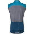Vest ZEROWEIGHT X-Warm, blue jewel - poseidon, large