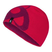 Hat MAGIC KNIT KIDS, rose red, large