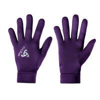 STRETCHFLEECE LINER gloves, pickled beet, large