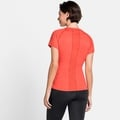 CERAMICOOL ELEMENT-T-shirt voor dames, hot coral, large