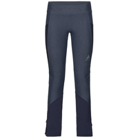 Collant EXO, blue indigo melange - diving navy, large