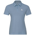 F-DRY Poloshirt, faded denim, large