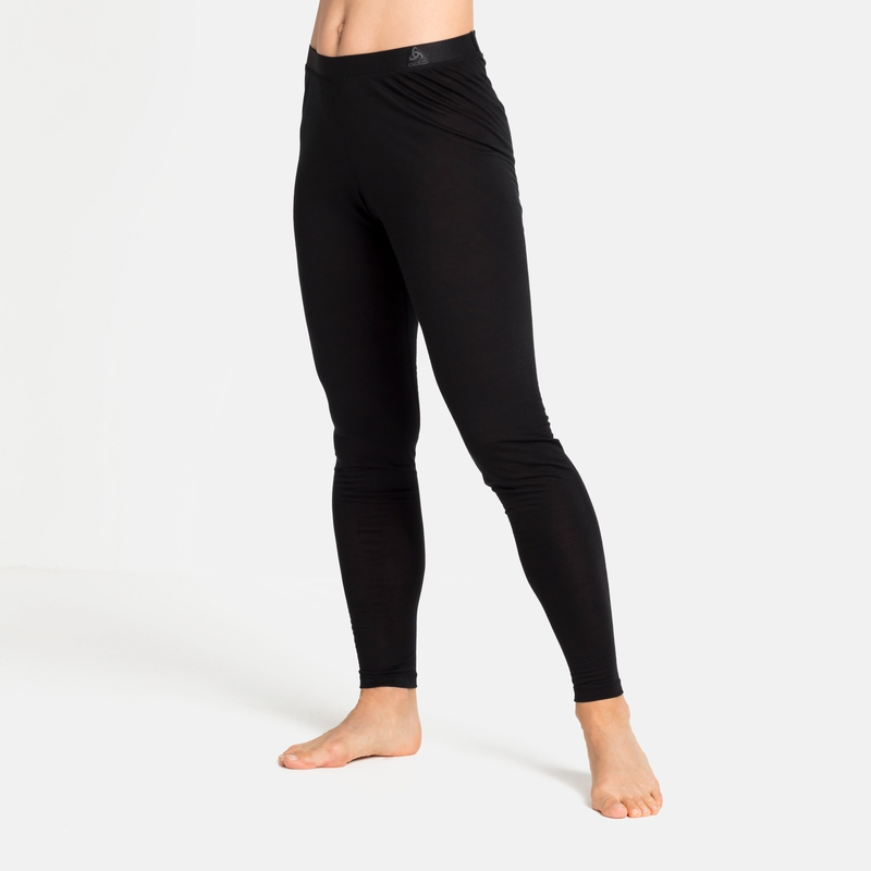 Damen NATURAL + LIGHT Base Layer Hose, black, large