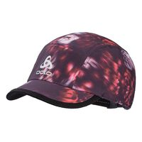 CERAMICOOL LIGHT Laufcap, plum perfect - flower AOP SS19, large