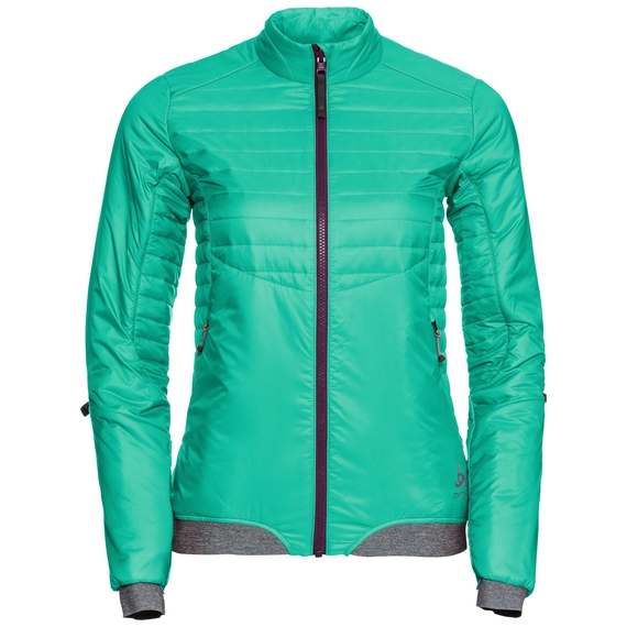 Jacket COCOON S Zip IN, mint leaf, large