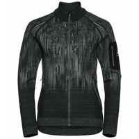 BLACKCOMB-tussenlaagtop voor dames, odlo graphite grey - black, large