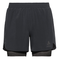 Herren MILLENNIUM PRO 2-in-1-Shorts, black - black, large