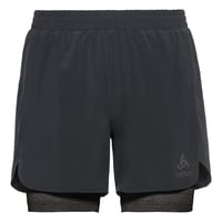 2-in-1 Shorts MILLENNIUM LINENCOOL PRO, black - black, large