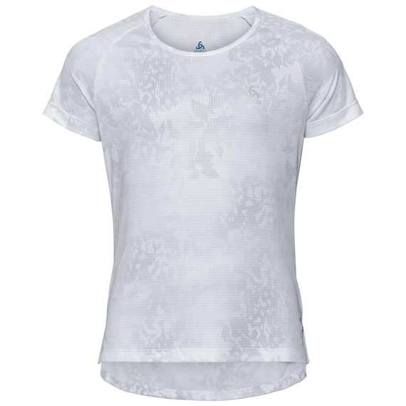 BL TOP Girls CERAMICOOL Blackcomb, white - AOP SS19, large