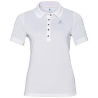 Polo shirt s/s GEORGIA RT, white, large
