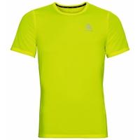 ELEMENT Light-T-shirt met PRINT voor heren, safety yellow (neon) - placed print FW19, large