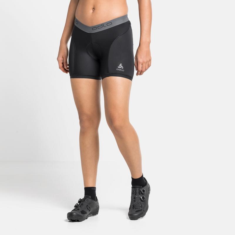 Women's BREATHE Cycling Sports Underwear Panty Bottoms, black, large