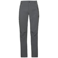 Men's Short-Length WEDGEMOUNT Pants, odlo steel grey, large