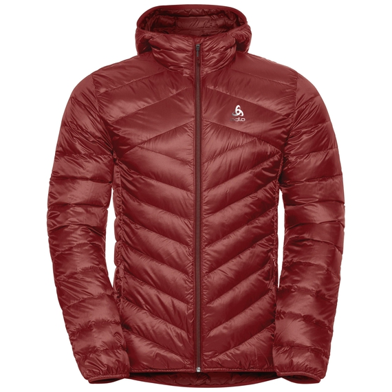 Men's HOODY COCOON N-THERMIC WARM Insulated Jacket, syrah, large