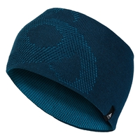 Bonnet MAILLE FINE REVERSIBLE Warm, poseidon - blue jewel, large