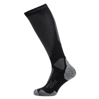 Chaussettes longues MUSCLE FORCE CERAMIWARM LIGHT PRO, black - odlo graphite grey, large