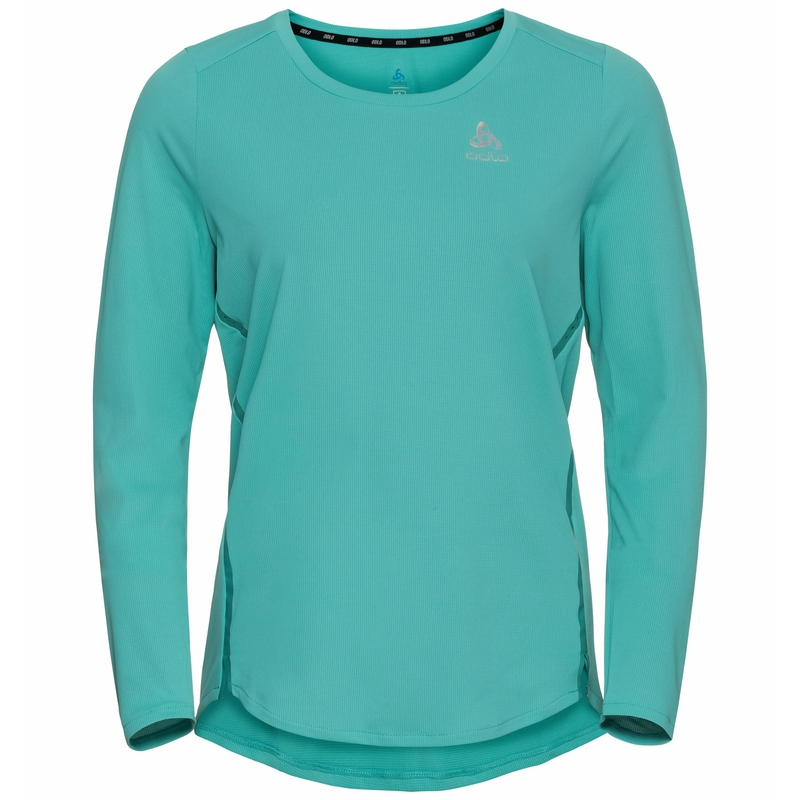 T-shirt de Running à manches longues ZEROWEIGHT CHILL-TEC pour femme, jaded, large