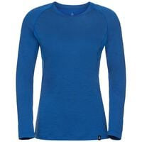BL TOP Crew neck l/s KOYA CERAMIWOOL, energy blue, large