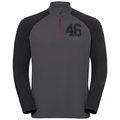 Stand-up collar l/s 1/2 zip TAHOE II, odlo graphite grey - black, large