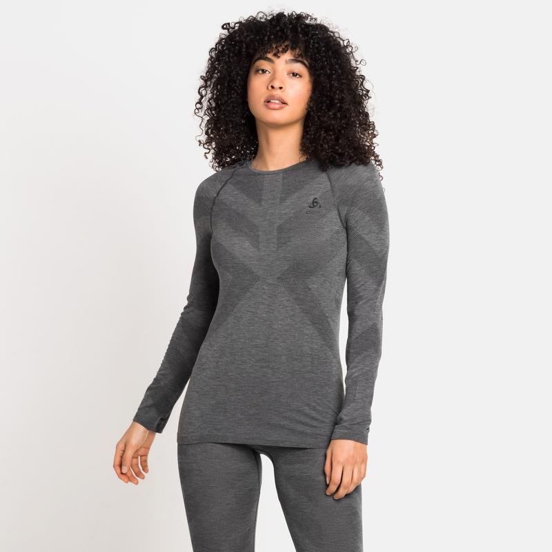 Damen KINSHIP LIGHT Base Layer, grey melange, large