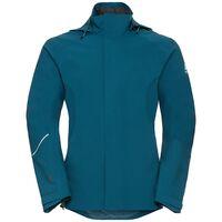 Jacket hardshell FREMONT, blue coral, large