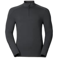 Sillian 1/2 zip, odlo graphite grey, large