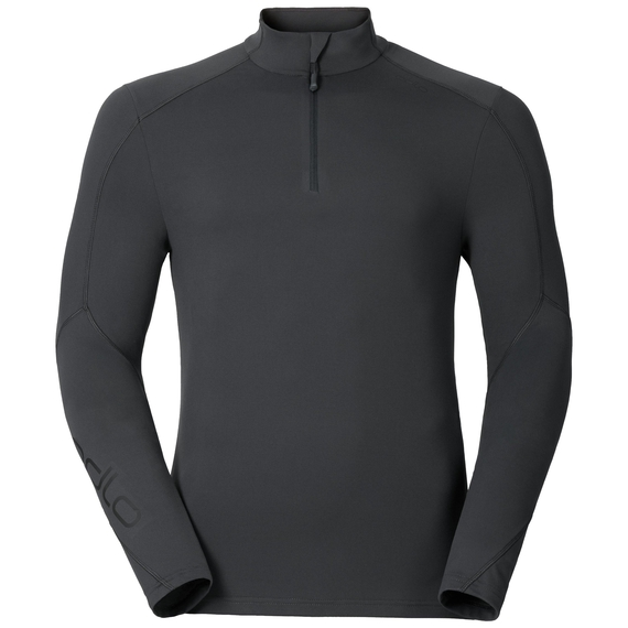 Stand-up collar l/s 1/2 zip SILLIAN, odlo graphite grey, large