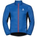 Men's ZEROWEIGHT Cycling Jacket, energy blue - black, large