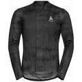 Herren ZEROWEIGHT CERAMIWARM Radsport Midlayer, odlo graphite grey - black, large