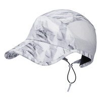 Cap CERAMICOOL X-LIGHT, odlo silver grey - paper print, large