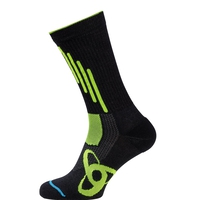 Socks ALLROUND LIGHT, black - safety yellow, large