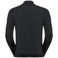 Pull ½ zippé MARTIN pour homme, black, large