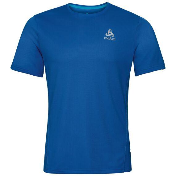 BL TOP Crew neck s/s SLIQ, energy blue, large