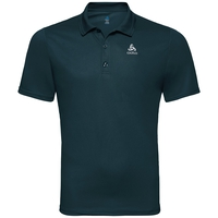 Polo shirt s/s TIMO, dark slate, large