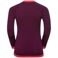 PERFORMANCE WARM KIDS Long-Sleeve Base Layer Top, pickled beet - hibiscus, large