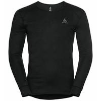 Shirt l/s v-neck ACTIVE WARM ECO, black, large