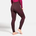 Women's PERFORMANCE WARM Base Layer Pants, decadent chocolate - cerise, large