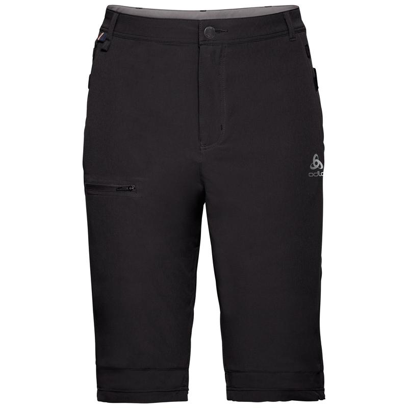 SAIKAI CERAMICOOL-short voor heren, black - odlo steel grey, large