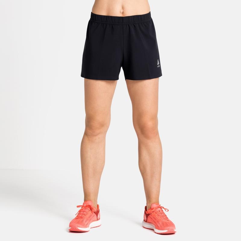 Women's ZEROWEIGHT 3 INCH Running Shorts, black, large