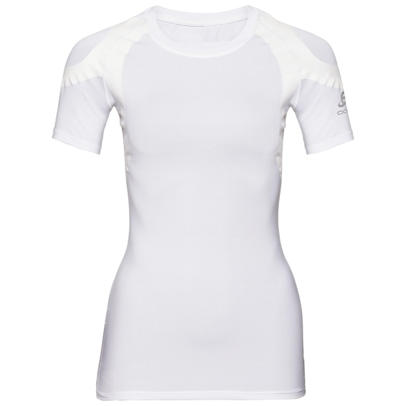 Women's ACTIVE SPINE LIGHT Base Layer Top, white, large