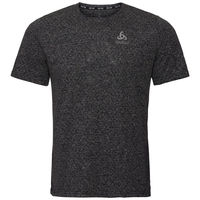 Men's MILLENNIUM LINENCOOL T-Shirt, black melange, large