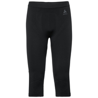 Pants 3/4 EVOLUTION WARM, black - odlo graphite grey, large