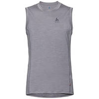 Singlet NATURAL + LIGHT, grey melange, large
