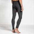 Men's ODLO FUTURESKIN Base Layer Pants, black - white, large