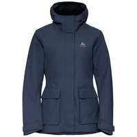 Women's HOLMENKOLLEN 2L Hardshell Jacket, diving navy, large